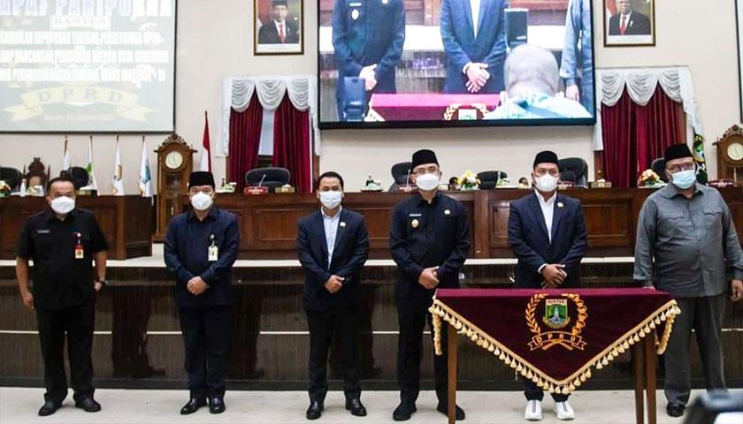 Banten Sekarang Punya Perda Tentang Penanggulangan COVID-19
