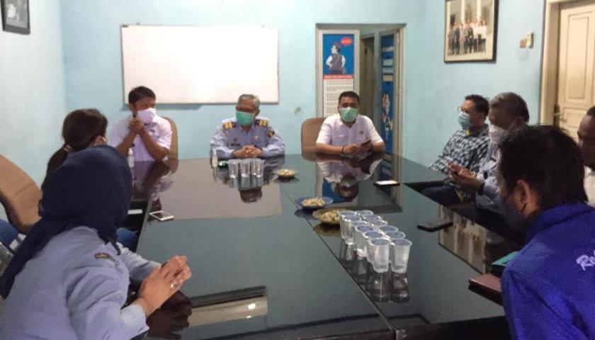 Kakanwil Kemenkumham Banten Kunjungi Sekretariat PWI Banten