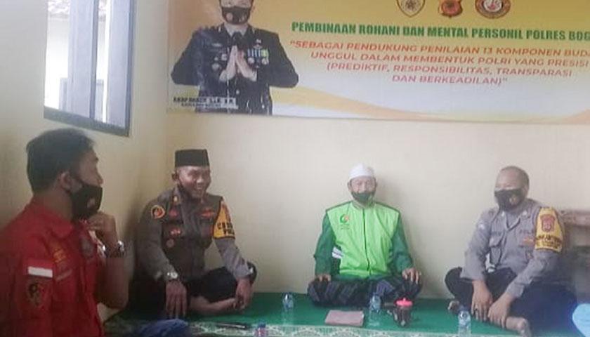 Binrohtal, Upaya Tingkatkan Karakter Anggota Polsek Nanggung