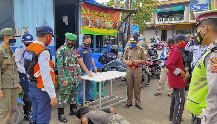 Koramil 2116/Leuwiliang, Bogor Intensifkan Operasi Protkes