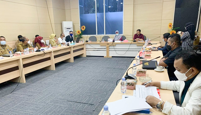 Komisi I DPRD Banten Gelar Rapat Evaluasi Bersama Mitra Kerja