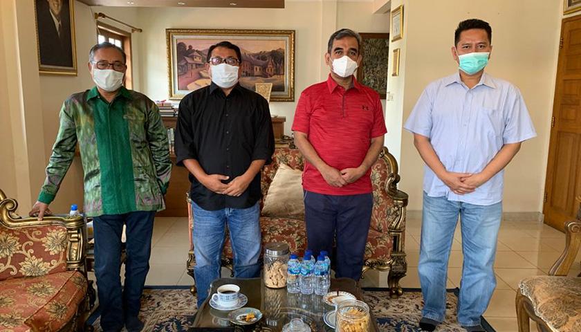 SMSI Temui Wakil Ketua MPR Desak Pemerintah Usut Tuntas Penembakan Marsal