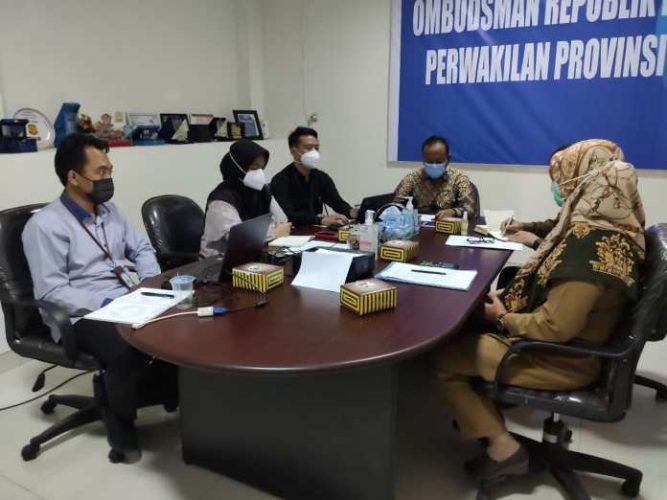 Semerawutnya PPDB,Dindikbud, Diskominfo SP, dan Inspektorat Banten Di Panggil Ombudsman