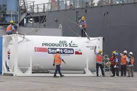 Indonesia Segera Mendapat Tambahan Bantuan Iso Tank dan Liquid Oxygen Dari Singapura