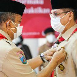 Sekretaris DPRD Banten Terima Penghargaan Darma Bakti,HUT Pramuka ke 60