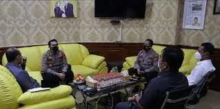 Perkuat Sinergitas Forkopimda, Kapolres Serang Temui Ketua DPRD Kabupaten Serang