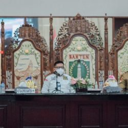 Ketua DPRD Banten Hadiri Rapat Evaluasi PPKM Bersama Forkopimda